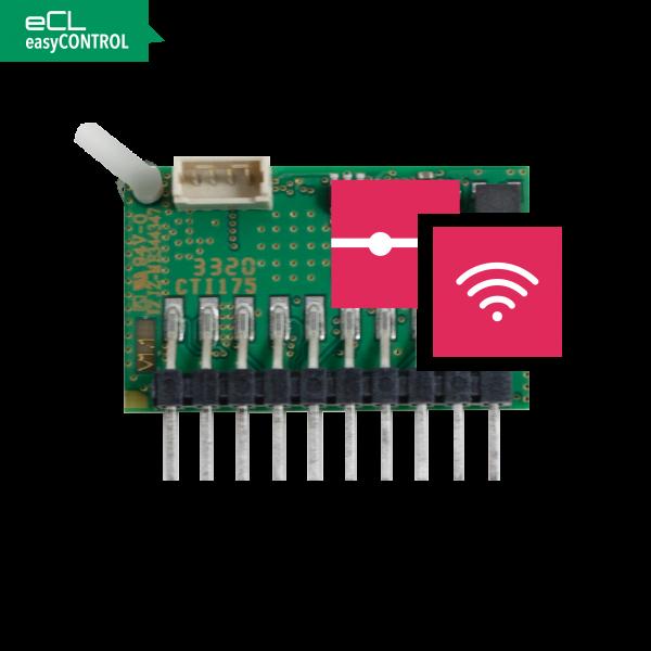 easyCONTROL Platine EC-FC Kabel/Funk