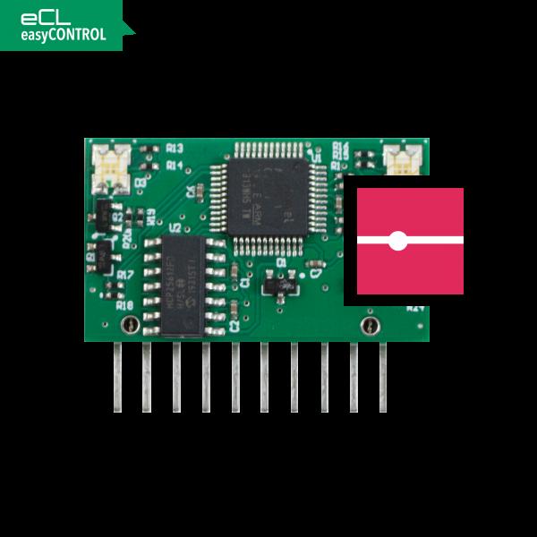 easyCONTROL Platine EC Kabel